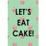 Let's Eat Cake! 60mm x 90mm Magnet