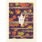 Crane - Golden Maple Leaves