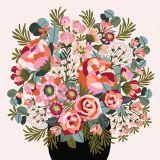 Blush Peonies & Roses