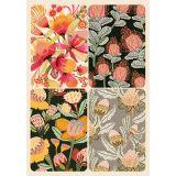 Removable Magnets  Card - Australian Florals No.3