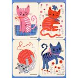 Removable Magnets Card - Kittens