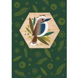 Kookaburra Wood Magnet