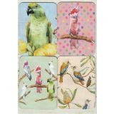 Removable Magnets Card - Australian Birds