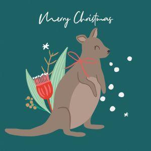 Christmas Kangaroo