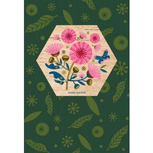 Flowering Gum Wood Magnet