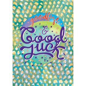 Big Cards - Goodbye & Good Luck
