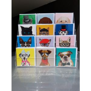 Perspex Display for Christopher Vine Small Cards